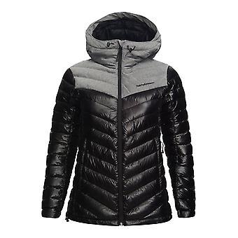 Peak Performance Womens Frost Flannel Hooded Jacket