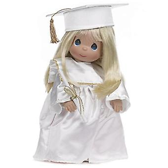 Precious Moments Doll, Graduate, Blonde, 12 inch doll