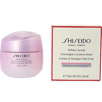 Shiseido alb lucide noapte crema & masca 75 ml pentru femei