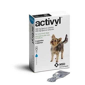 Activyl Spot-On for Very Small Dogs 1.5-6.5 kg (4-14 lbs) - 4 Pipettes