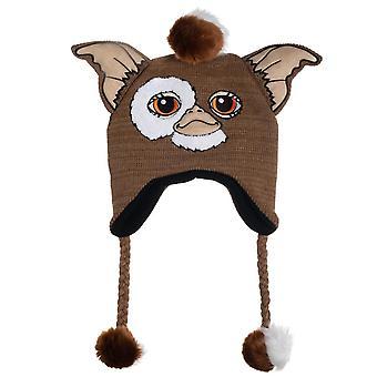 Laplander Beanie Cap - Gremlins - Gizmo Big Face 3D Ear New kc6f5ngms