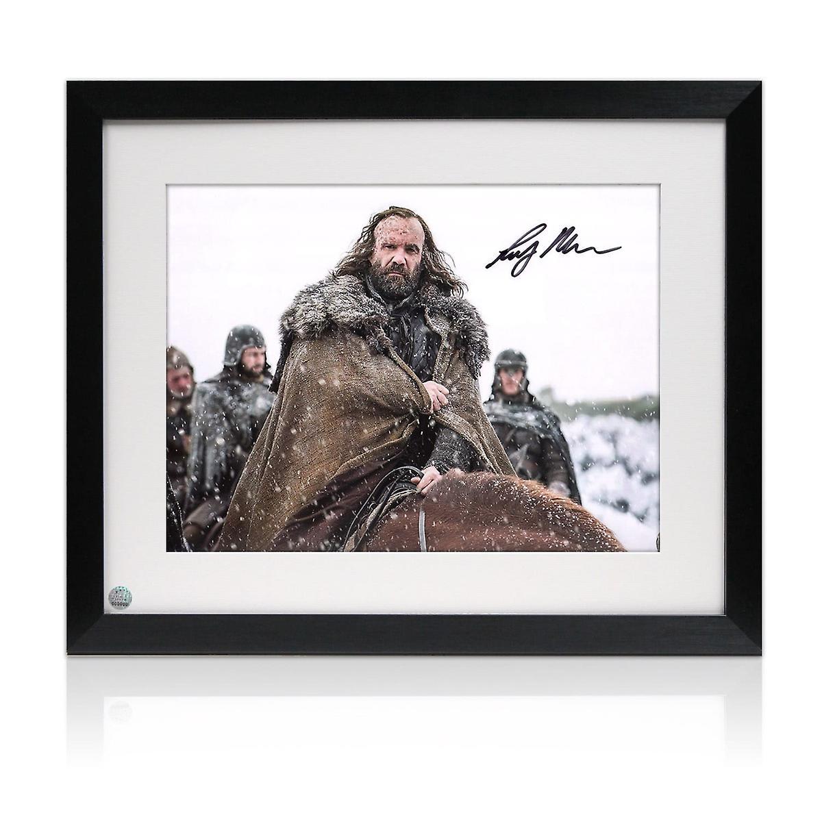 Sandor Clegane Signed Game Of Thrones Photo: The Hound Framed