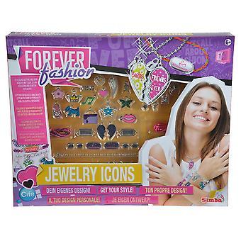 FF smykker ikoner legetøj