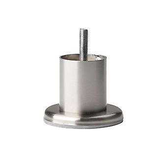 Round Stainless Steel Furniture leg 5 cm (M8)