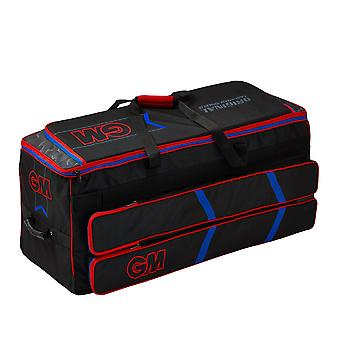 Gunn & Moore 2019 Original Easi-Load Wheelie Cricket Duffle Bag Black/Red/Blue