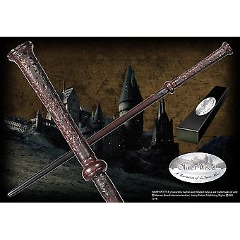 Oliver Wood Character Wand Prop Replica from Harry Potter