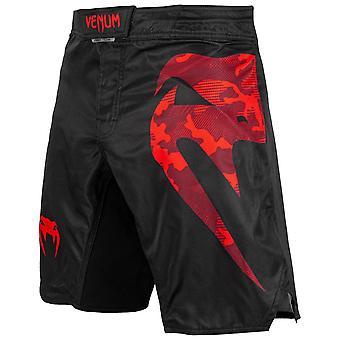 Venum Light 3.0 Pantaloncini da combattimento Nero/Rosso