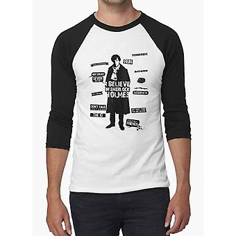 Detective quotes black & white full sleeves t-shirt