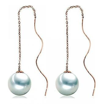 Luna-Pearls pärla örhängen Akoya pärlor 8-8.5 mm 750 rosegold 3001252