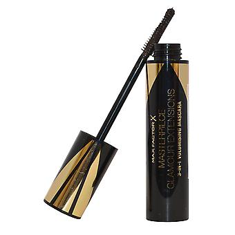 Max Factor Masterpiece Glamour Extensions 3 in 1 Volumising Mascara 12ml Black / Brown