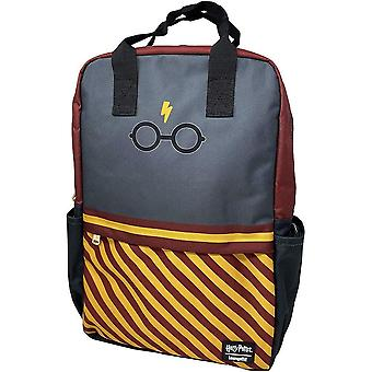 Loungefly x Harry Potter lasit raidat laptop reppu