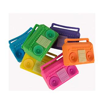 All City Breakers Boombox Erasers 6 Pk