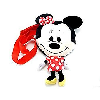 Plush Messenger Bag - Disney - Minnie Mouse RED Flat 10