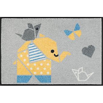 wash+dry Fußmatte Origami Animals waschbare Schmutzmatte