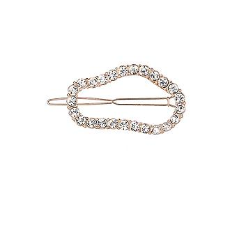 Crystal Open Shaped Hair Clip