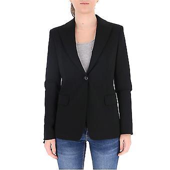 Pinko 1g14tc5872z99 Women's Black Cotton Blazer