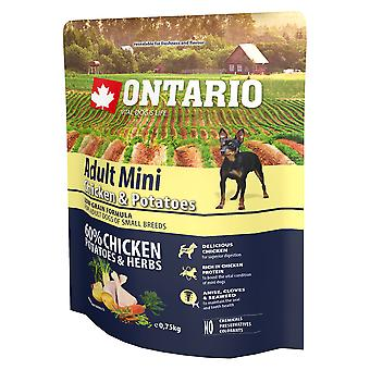 Ontario Adult Mini Pollo y Patatas (Dogs , Dog Food , Dry Food)