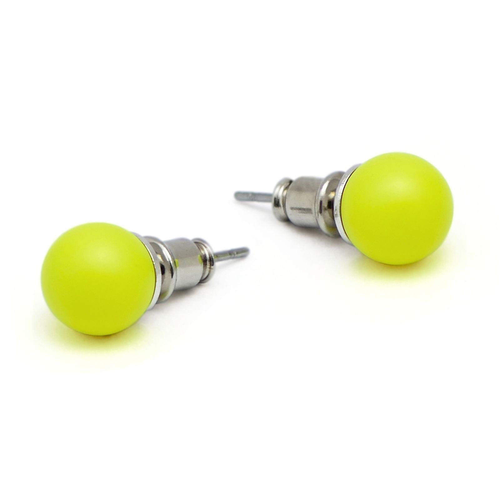 Stud Earrings with Crystal Pearls EMB16.2