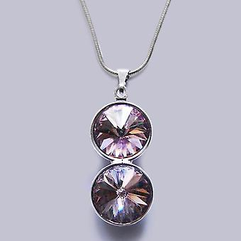 Pendant necklace with Swarovski crystals PMB 3.3