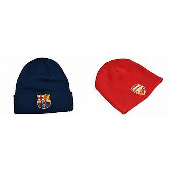 Arsenal FC Official Football Knitted Beanie Hat