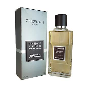 L'instant de guerlain for men by guerlain 3.3 oz eau de toilette spray