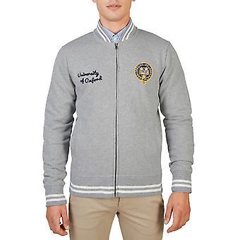 Oxford University Original Men Fall/Winter Sweatshirt - Grey Color 55878