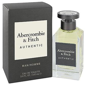 Abercrombie & Fitch Authentic Eau De Toilette Spray By Abercrombie & Fitch 3.4 oz Eau De Toilette Spray