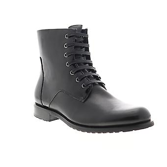 English Laundry Athol  Mens Black Leather Casual Dress Boots Shoes