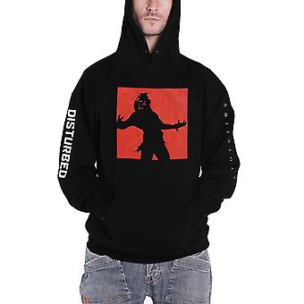 Disturbed Hoodie Evolution Tour Band Logo new Official Mens Black Pullover