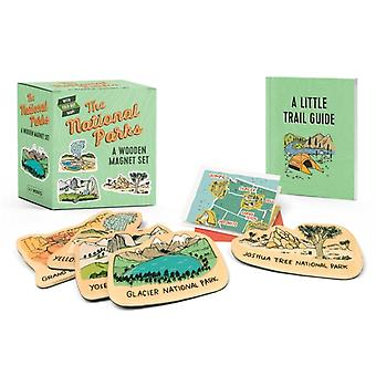 The National Parks  A Wooden Magnet Set by Matt Garczynski & Illustrated by Brainstorm