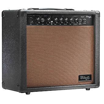 Amplificatore per chitarra Stagg 20 AA 20W RMS acustica