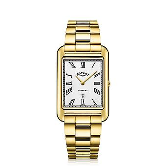 Rotary GB05283-01 Hombres's Cambridge Oblong Wristwatch