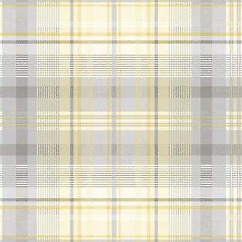 Patterdale Yellow/Grey Wallpaper Holden 90832