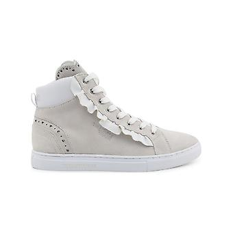 Trussardi - Chaussures - Sneakers - 79A00242_W001_WHITE - Dames - blanc, lightyellow - 41