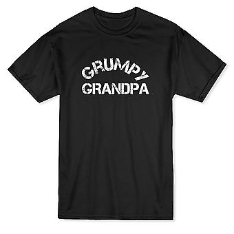 Camiseta malhumorado abuelo hombres