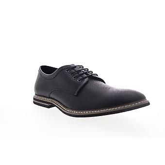 English Laundry Canning  Mens Black Leather Dress Lace Up Oxfords Shoes