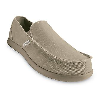 Crocs Mens Santa Cruz Loafer Khaki