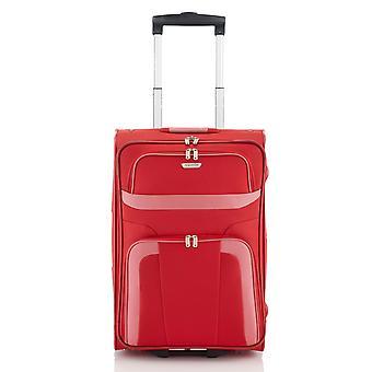 travelite Orlando Handbagage Trolley S, 2 hjul, 53 cm, 37 L, röd