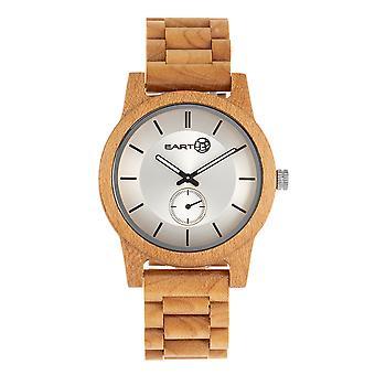 Reloj de pulsera Earth Wood Blue Ridge - Khaki/Tan