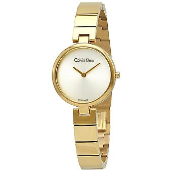 Calvin Klein K8G23546 Analogue Quartz Silver Dial Ladies Watch