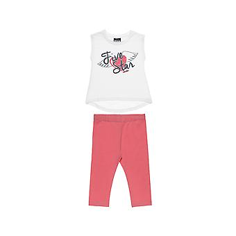 Alouette Girls' Five Star T-Shirt Set With Print And T-Shirt
