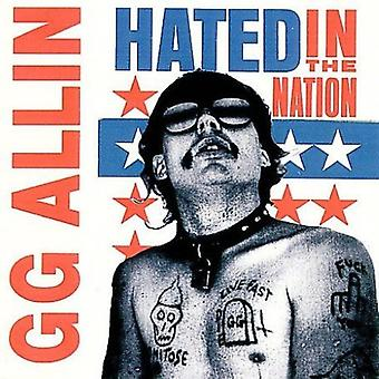 Gg Allin - Hated in the Nation [CD] USA import