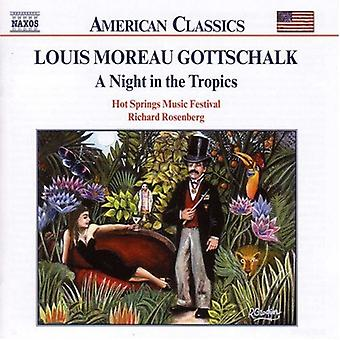 L.M. Gottschalk - Gottschalk: A Night in the Tropics [CD] USA import