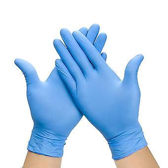 Luvas de nitrito descartáveis para uso de alimentos laboratório hospitalar industrial
