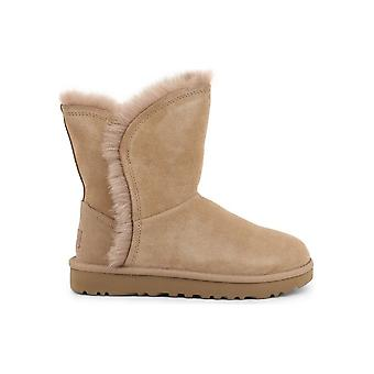 UGG - Shoes - Ankle boots - FLUFF_HIGH LOW_1103746_AMPHORA - Ladies - wheat - EU 38