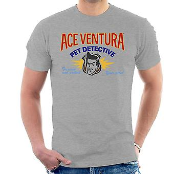 Ace Ventura Pet Detective Logo Men's T-Shirt