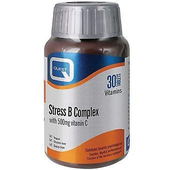 Quest Vitamins Stress B-Complex Tablets 30 (601196)