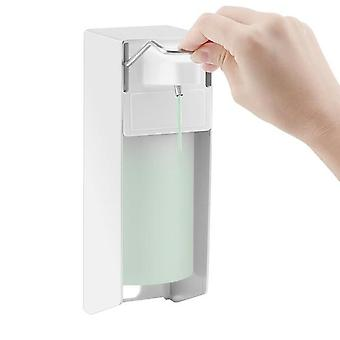 Wall Mount Soap Sanitizer Lotion Dispenser With Manual Pump For Bathrooms And Hospitals