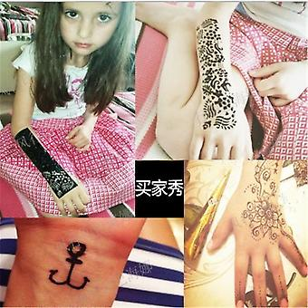 New Henna Tattoo Paste For Temporary Tattoo Sticker - Body Paint Art Cream Cone