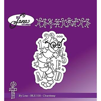 By Lene ABC Worm Clear Stamp